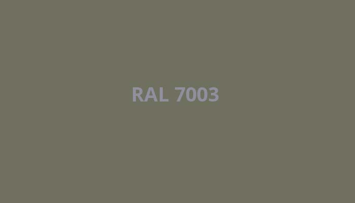 RAL-7003