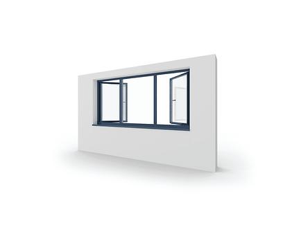 hliníkové okno izool 70