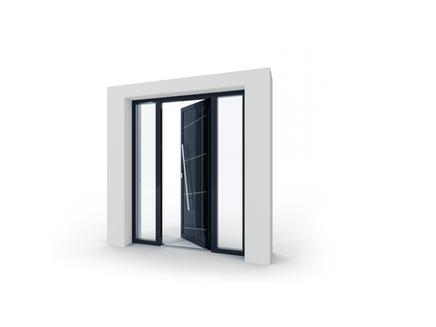 hliníkové dvere izool
