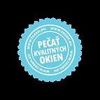 S nami získate kvalitný produkt ocenený certifikátom Pečať kvalitných okien