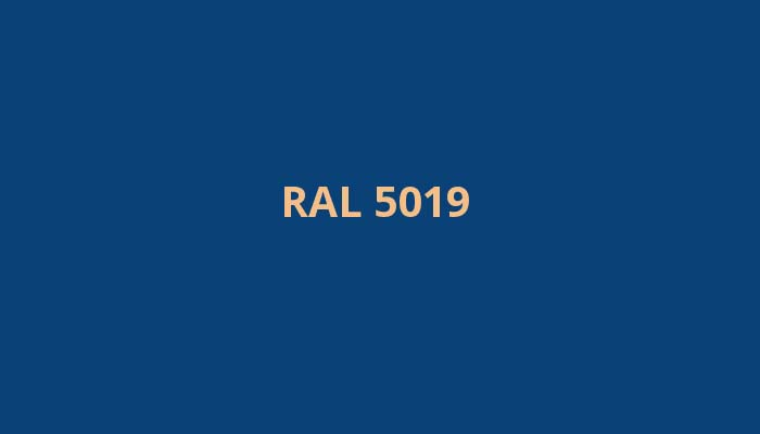 RAL-5019