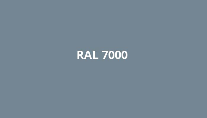 RAL-7000