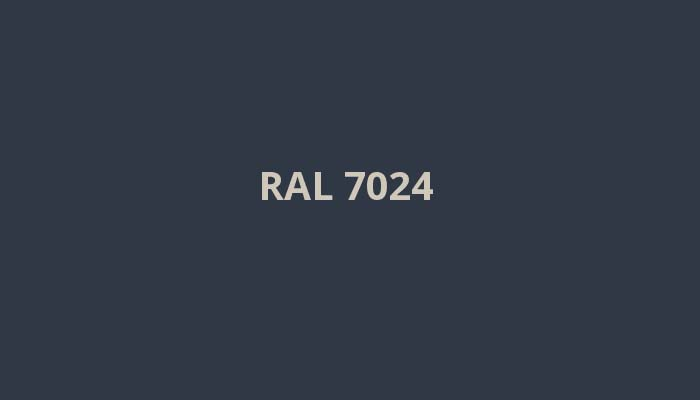RAL-7024