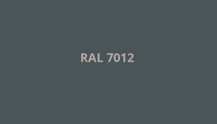 RAL-7012