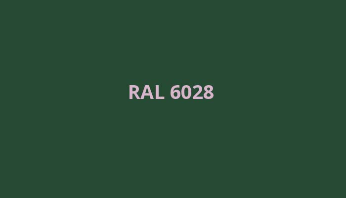 RAL-6028