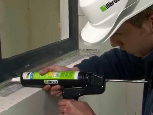 Miesto teplých rámčekov kvalitná montáž okna