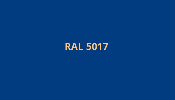 RAL-5017