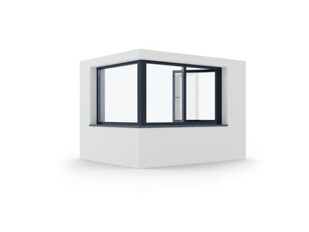 hliníkové okno izool