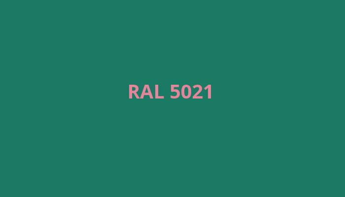RAL-5021