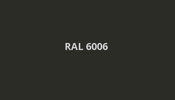 RAL-6006