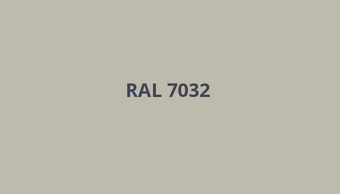 RAL-7032