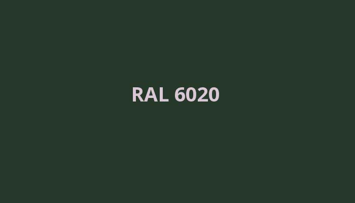 RAL-6020