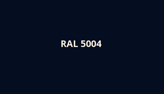 ral-5004