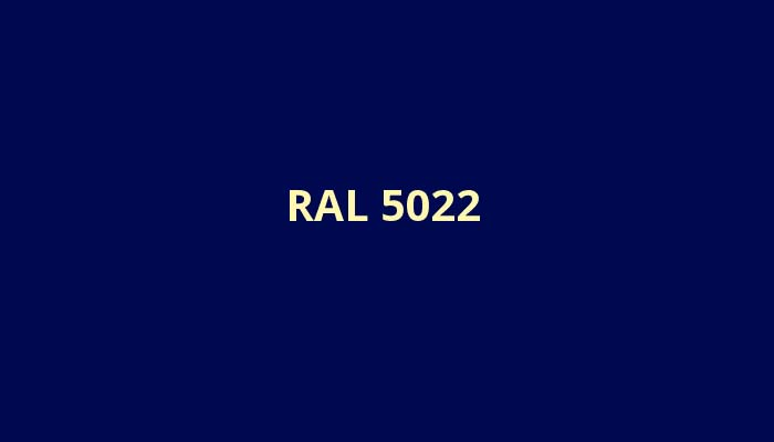 RAL-5022