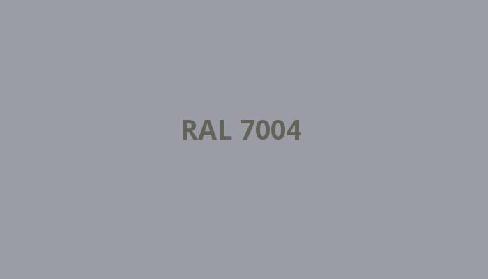 RAL-7004