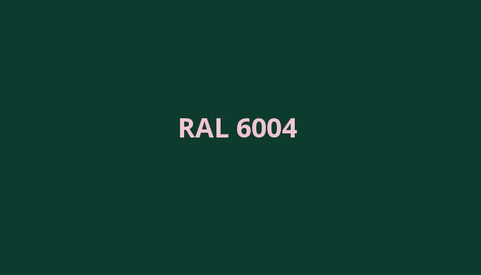 RAL-6004
