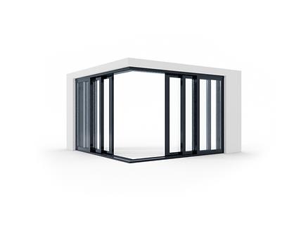 hliníkové zdvižno posuvné dvere izool.pn