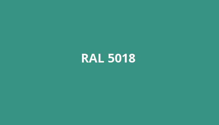 RAL-5018