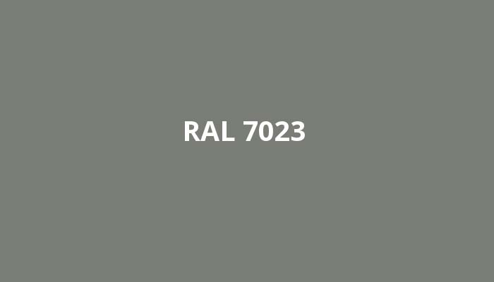 RAL-7023