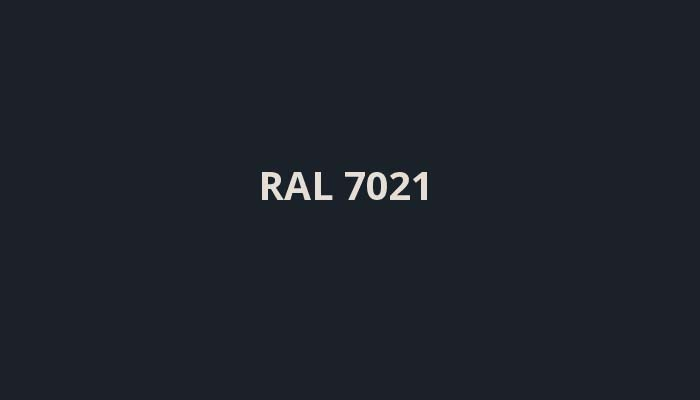 RAL-7021
