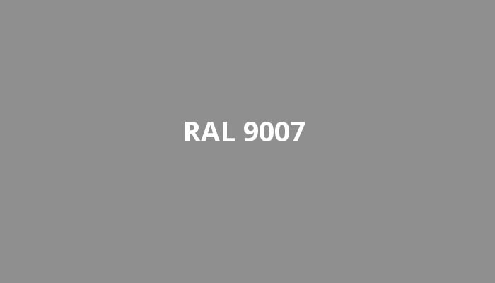 RAL-9007