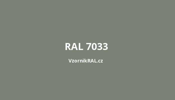 RAL-7033