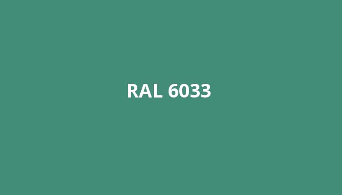 RAL-6033