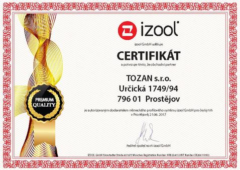 Certifikát pro výrobce CZ TOZAN.jpg