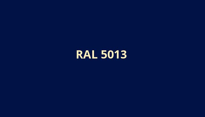 RAL-5013