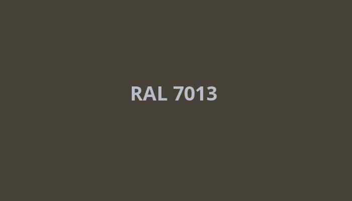 RAL-7013