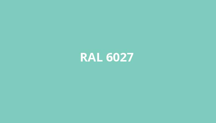RAL-6027