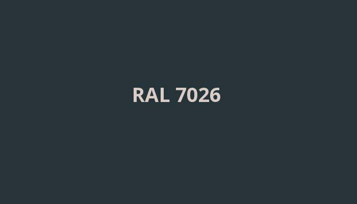 RAL-7026
