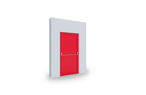 protipožární dveře izool
