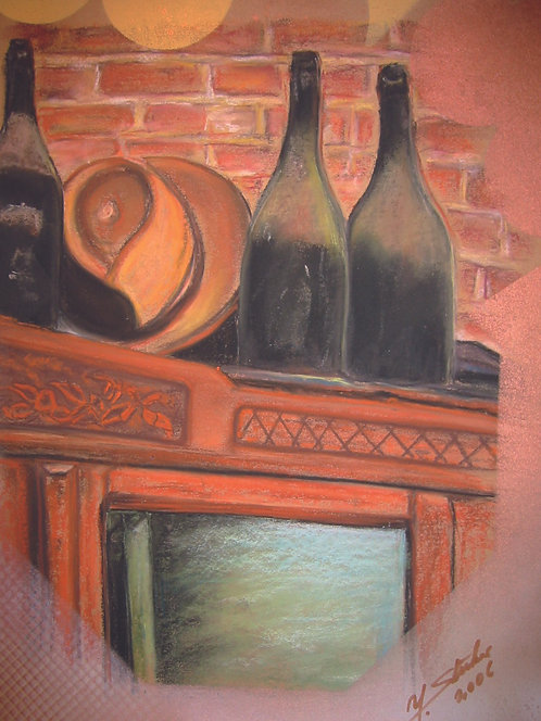 Alte Weinflaschen_95