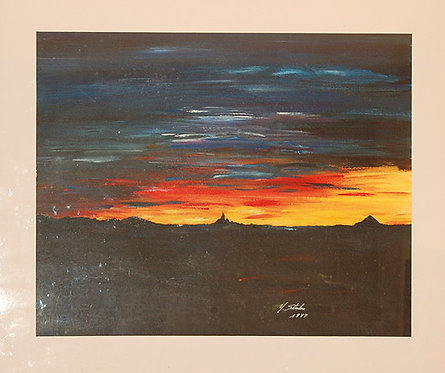 Sonnenuntergang in Benevello_65