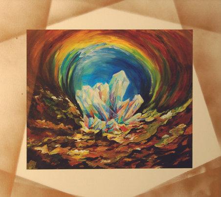 Kristall mit Aura_28