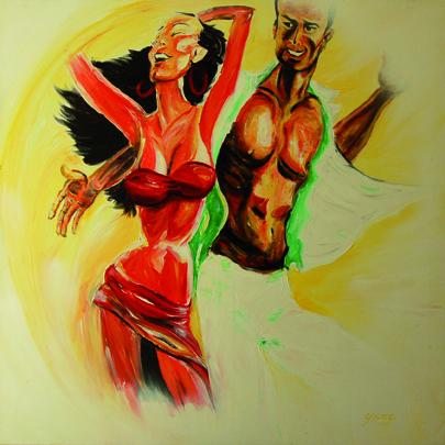 Kuba Tanzpaar