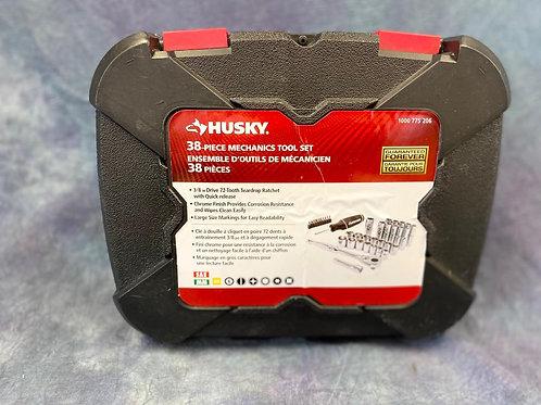 Huskey 38 piece Mechanics Driver and  Ratchet set