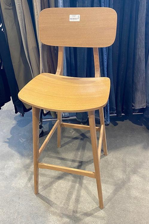Wooden  High Top Chair