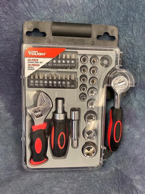 Hyper Tough  38 piece Stubby Tool Set