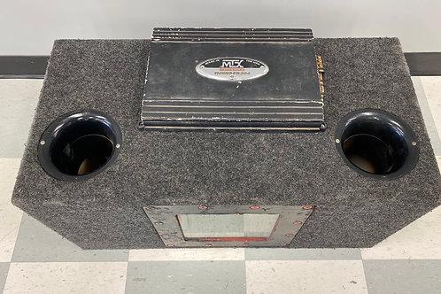 MTX Audio Thinder 304  Amp & Speakers