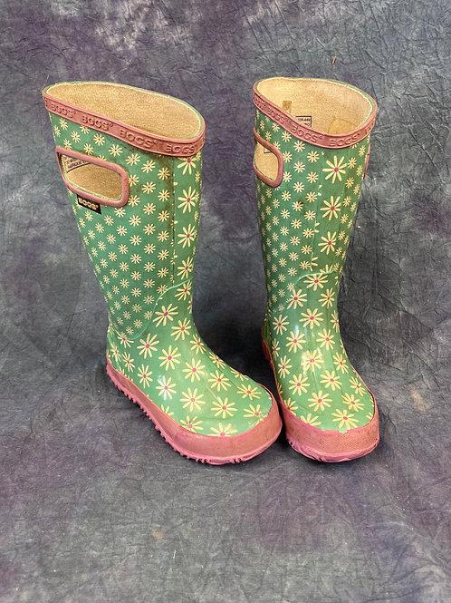 Children's tall BOGS rubber boots
