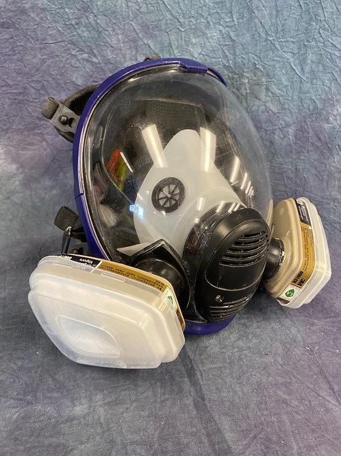 Full face  shield  vapour mask