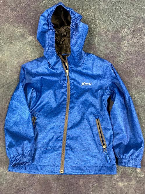 X MTN  Children's hooded  rain jacket