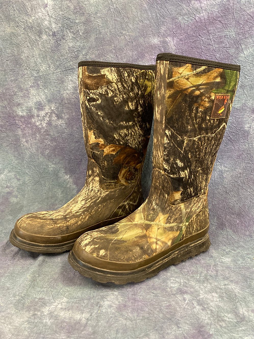 Red Head  camouflage rubber boots