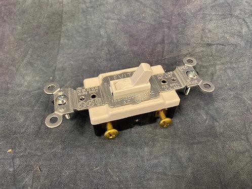 Leviton  single pole white switches