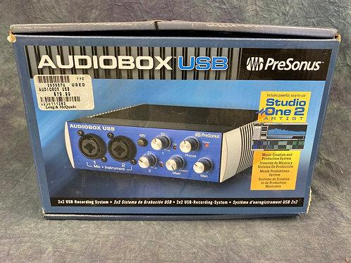 Audio box 2x2 USB Recording System