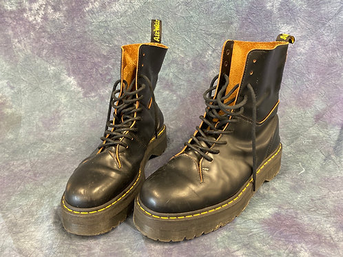 Air Wair black lace up boots
