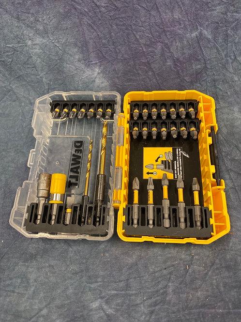 DeWalt multi bit set with case
