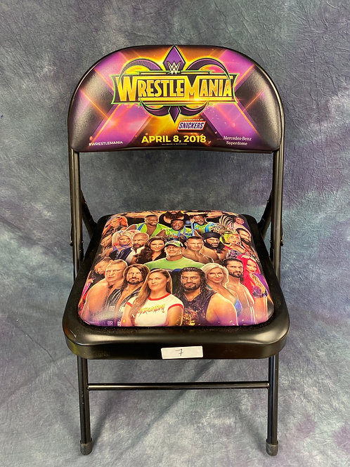WrestleMania Collectable Chair